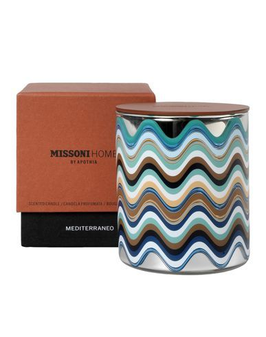 Mediterraneo candle Missoni Home by Apothia on Missoni Online Store