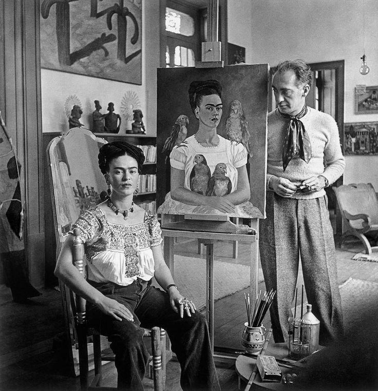 Frida Kahlo Nickolas Muray 7