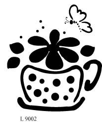 L9002 - Cup with Flowers