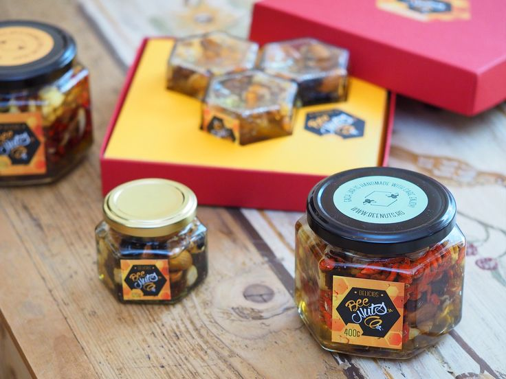 Delicious and healthy pure honey, dry fruits and nuts, for your sweet tooth! BeeNuts, a desert with energy!