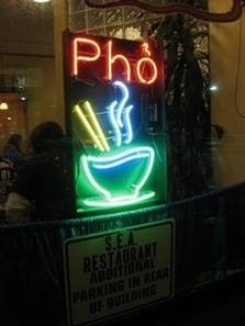 SEA Restaurant, 741 Monroe Ave  Rochester, NY 14607.  If you have never had Pho it is a Vietnamese soup & you must try it here.  It is yummy & the portion is HUGE.  I want to try other stuff here but just can't get myself to get anything other than the Pho b/c it's so good.