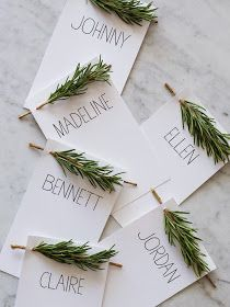 Alive and Livin': Place Card Holders