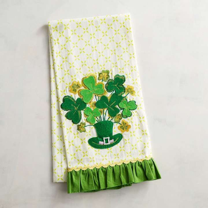 Happy St Patrick S Day Tea Towel Ad Stpatricksday