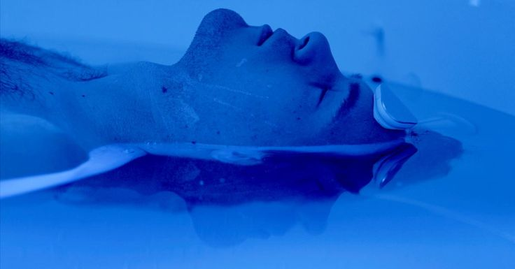This scientist thinks floating in salt water could treat mental health disorders