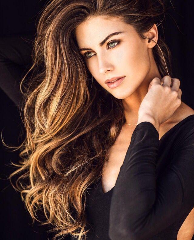 Katherine Webb hair
