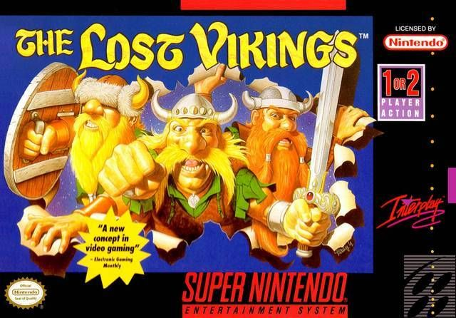 The Lost Vikings for Super Nintendo @ www.thegamingwarehouse.com/the-lost-vikings-for-snes-cartridge-only/