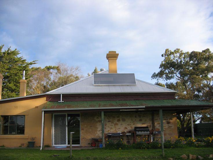 Solar heating - free healthy hot fresh air. #solarventi #solarventiau