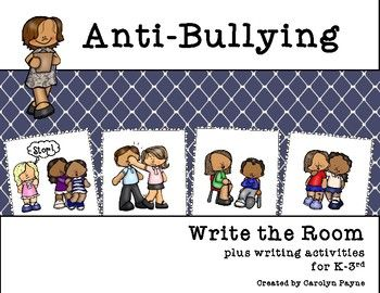 This packet is full of activities to build awareness about bullying with younger students during National Bullying Prevention or any time of year. Packet includes:Write the Room ActivityAbout Bullying Discussion SheetTattling and Reporting Poster Tattling or ReportingBe a Buddy, Not a BullySame or Different?I Can Write About BullyingPledge Cards and Poster Linked Together Against Bullying!