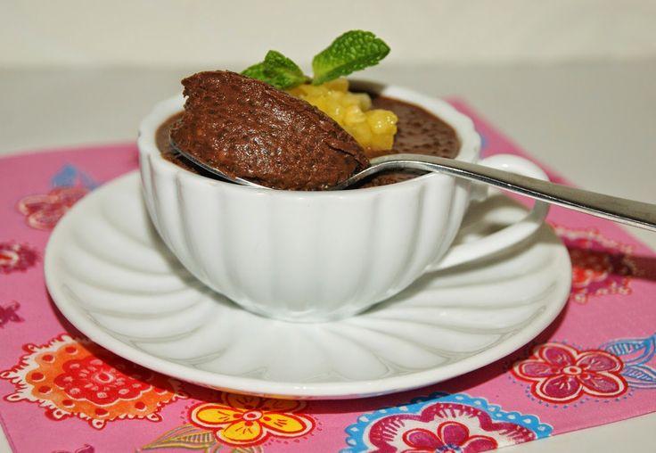 Čokoládový chia puding