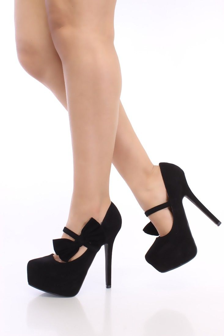 Pump Wedge Heels