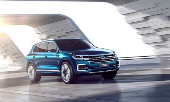 Концепт Фольксваген Т-Прайм / VW T-Prime ставший прототипом для внедорожника Volkswagen Touareg 2018 / Фольксваген Туарег 2018