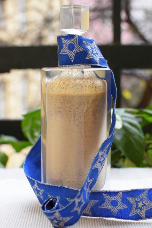 eggnog with coffee
