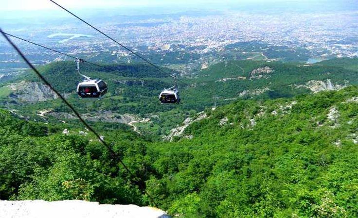 Dajti Dağı Arnavutluk