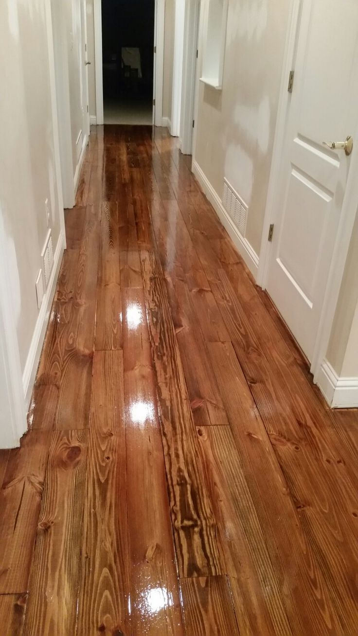 Heart Pine Minwax Provincial Stain Floors I Ve Done