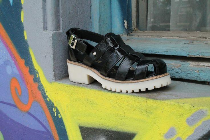 Sandalias en www.clash.cl  Black Sandals