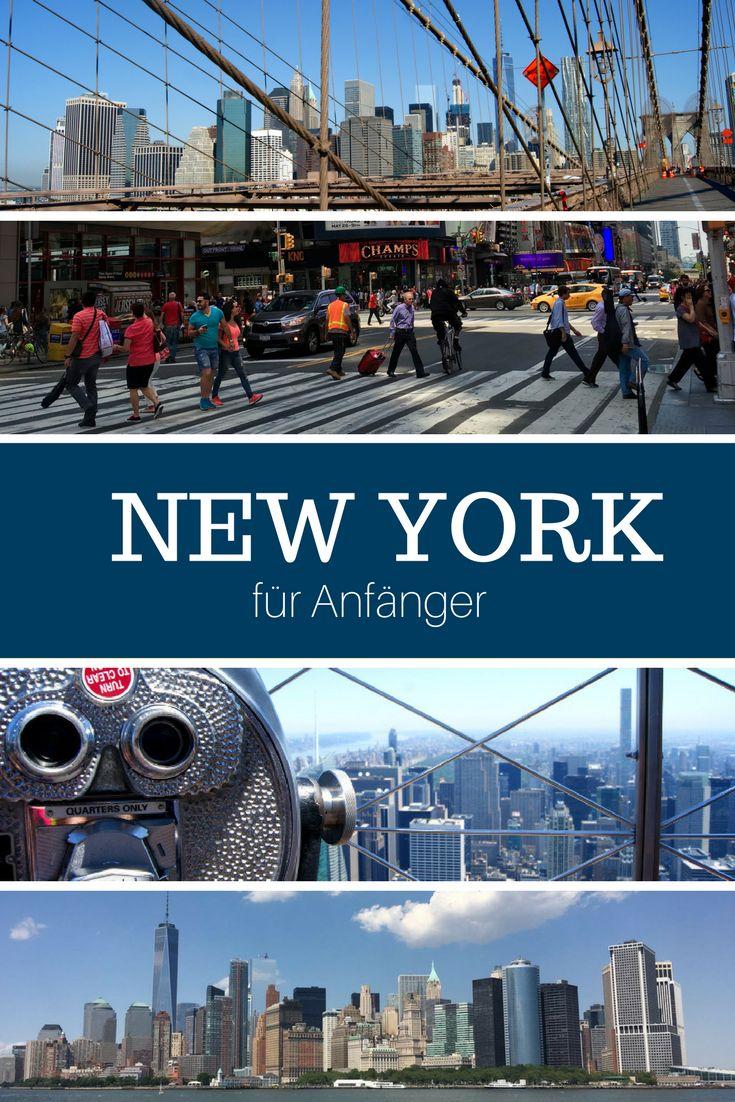 New York für Anfänger. In 2016 ging es wieder in die USA und diesmal stand auch endlich New York City auf dem Programm. Lange habe ich auf die Zeit im Big Apple hingefiebert. Endlich über die Brooklyn Bridge spazieren, die Skyline Manhattans und die Freiheitsstatue sehen... Yellow Cabs, der Times Square und der Central Park.. Ja, das ist NEW YORK. #nyc #newyork Ich zeige dir, was du bei deinem ersten Besuch, unbedingt sehen musst - New York für Anfänger