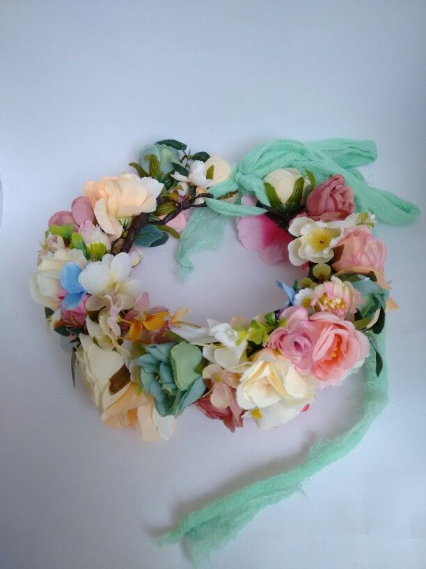 Maxi flowercrown maternity