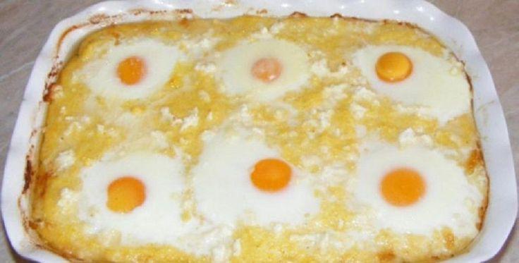 Ma egy olyan étel receptjét hoztuk el nektek amely annyira finom, hogy szinte abba sem tudod hagyni az evést ha egyszer elkészíted. Hozzávalók: 250 g kukoricadara, 6 dl víz, 4 dl tej, csipet só, 4 – 6 tojás (attól függ milyen adagot akarsz készíteni), 50 g vaj, 100 g fetasajt,[...]