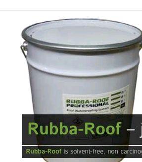 Flat Roof Repair? Rubba Roof Liquid Rubber Roof Seals U0026 Waterproofs Leaking  Flat Roofs