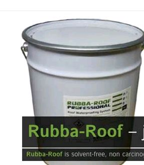 Flat roof repair? Rubba-Roof liquid rubber roof seals & waterproofs leaking flat roofs, garage roofs and more. Guaranteed 100% waterproof liquid rubber coating.