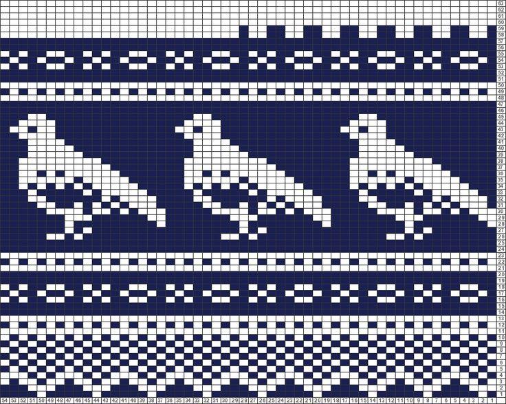 Tricksy Knitter Charts: Rype-Marius von bbwf15