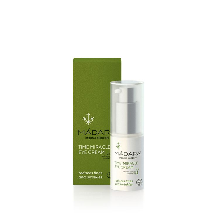 TIME MIRACLE EYE CREAM 50ml | ADVANCED ANTI-AGING SKIN CARE | MADARA Organic Skincare | Online at I Am Natural Store (Australia)