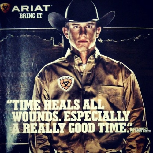 """""""Time heals all wounds. Especially a really good time."""""""