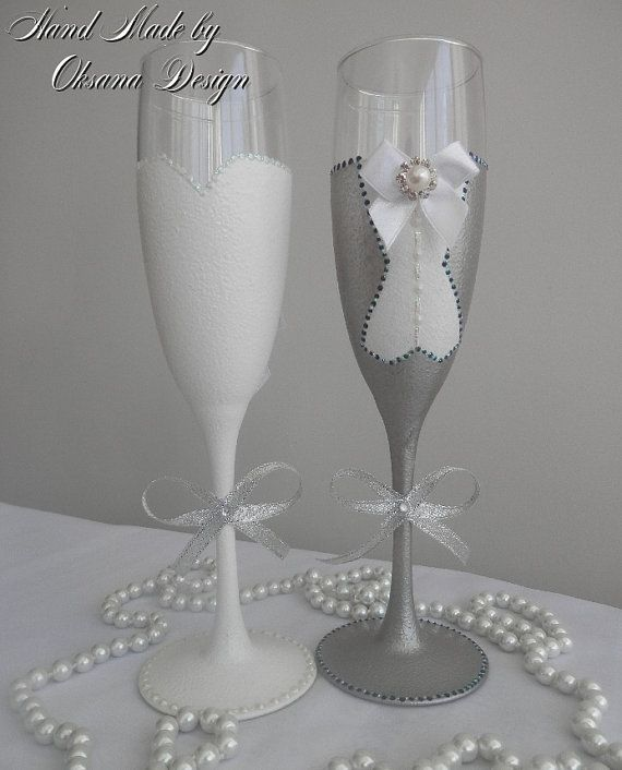 Hey, I found this really awesome Etsy listing at https://www.etsy.com/listing/236815516/bride-groom-wedding-glasses-mr-and-mrs