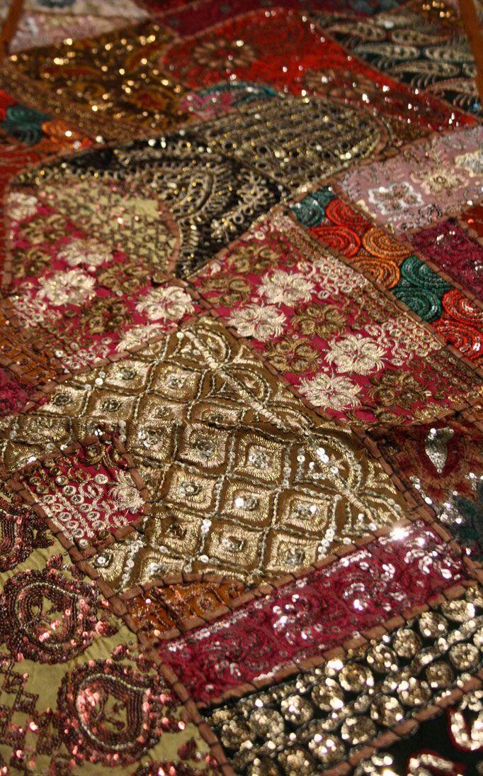 Tischläufer und Tischdecken - shantishantishop: handmade + fairtrade