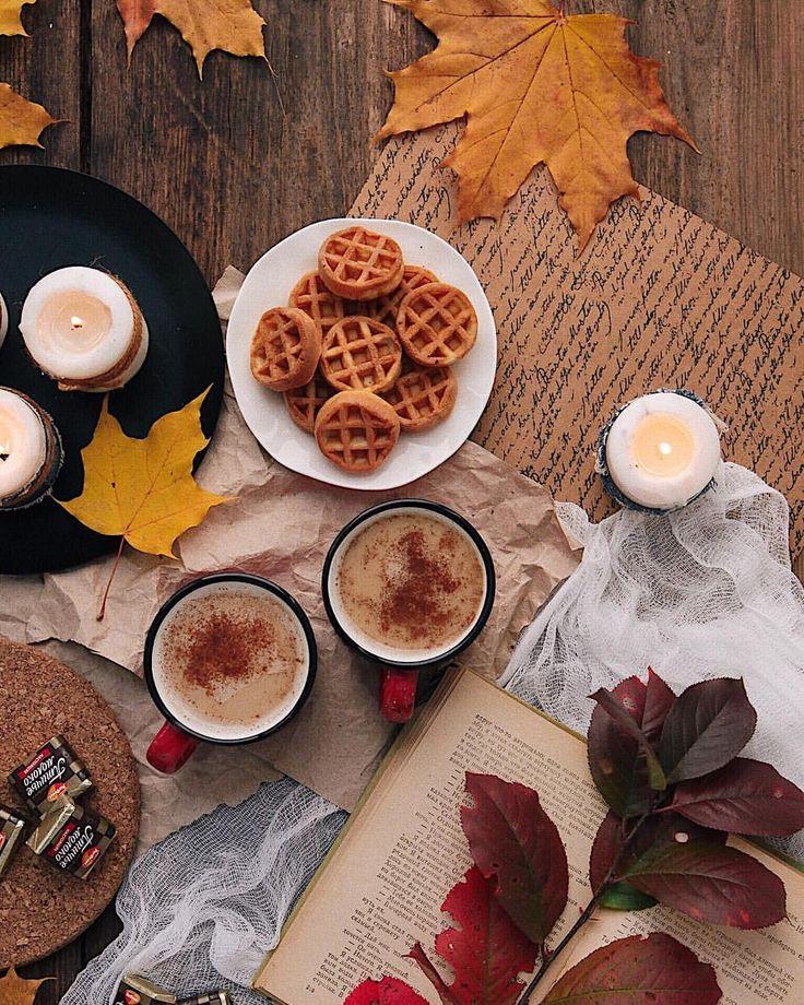 картинки с добрым утром с едой осенние красивые одном
