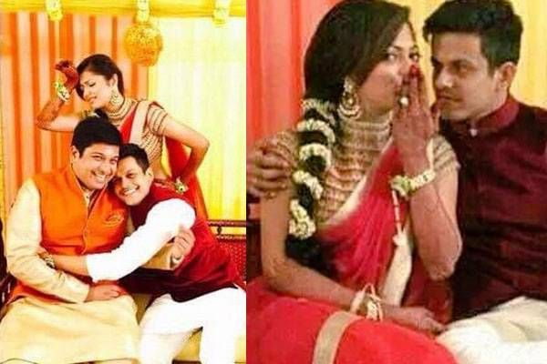 Drashti Dhami's wedding celebrations