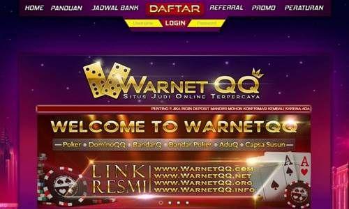 Berbagai situs terpercaya setiap harinya selalu Admin rekomendasikan untuk para penikmat judi online, termasuk dengan situs WarnetQQ ini.