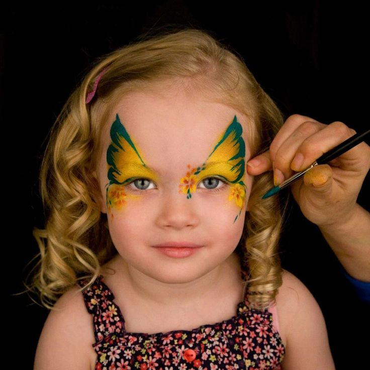 25 best ideas about butterfly face paint on pinterest