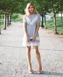 Layered Lacey Dress – Cara Loren