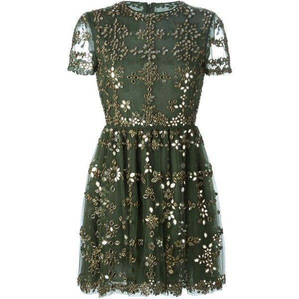 Valentino embellished tulle dress found on Polyvore