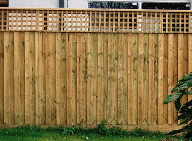 timber palng fence - Google Search