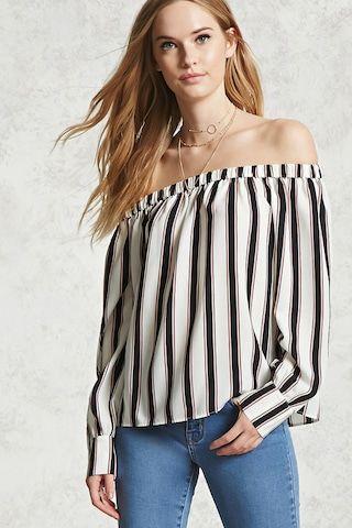 Contemporary Striped Top