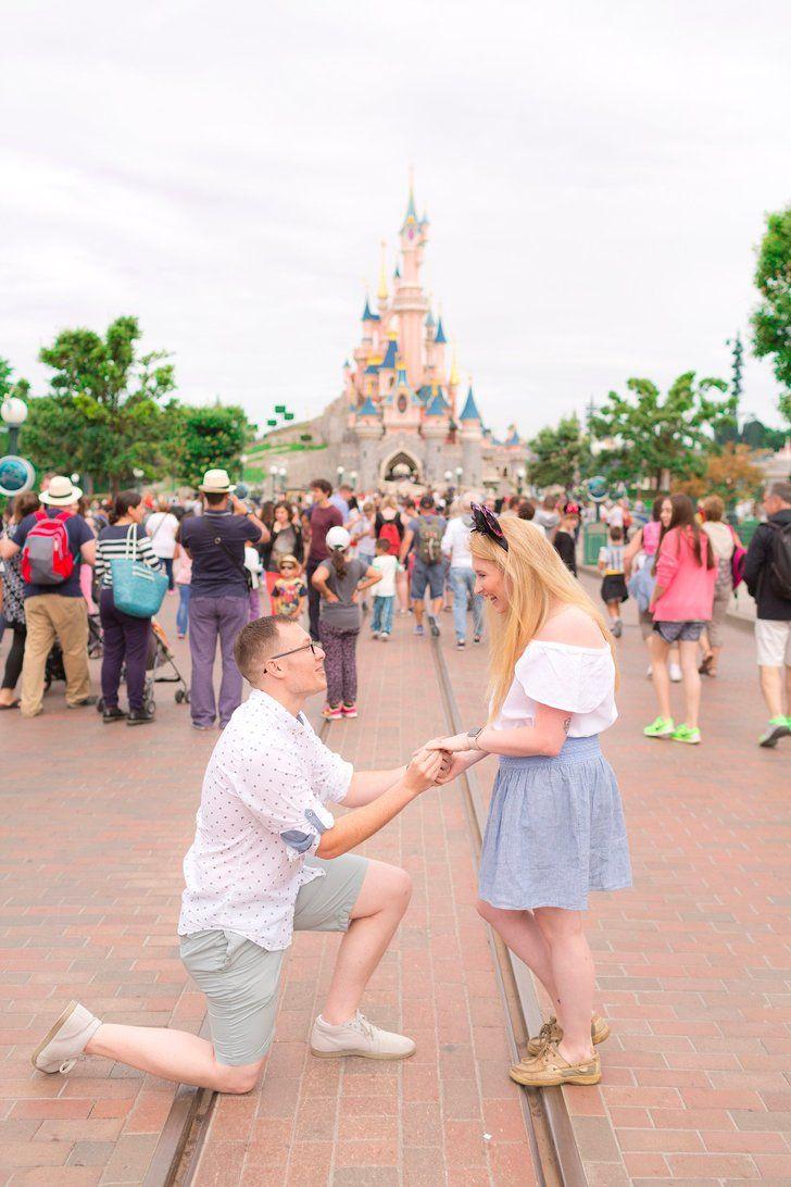 Disneyland photos disneyland paris bride groom table grooms table - Reproposal At Disneyland Paris
