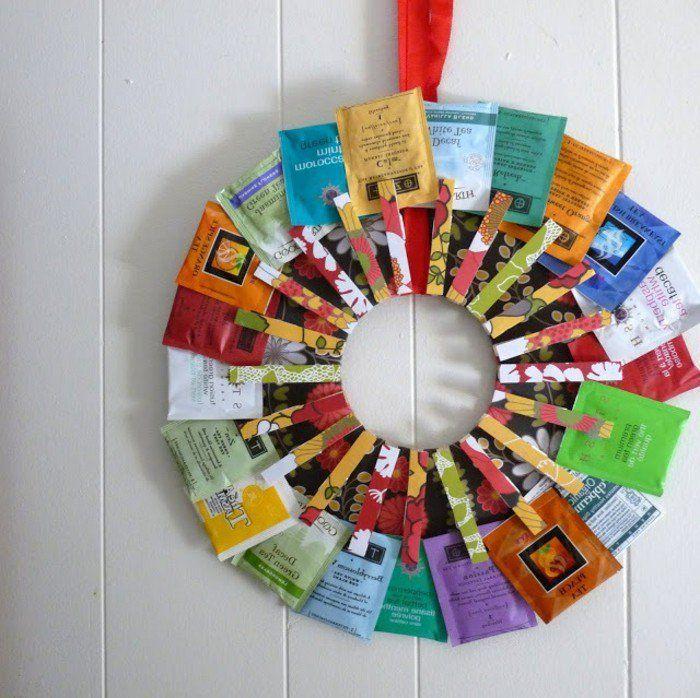porte-sachets, superbe suggestion de cadeau a faire soi meme, cadeau personnalisé pour les amateurs du thé