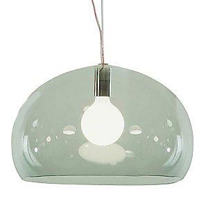 Kartell - FL/Y Transparent Suspension Lamp 9031 at 2Modern