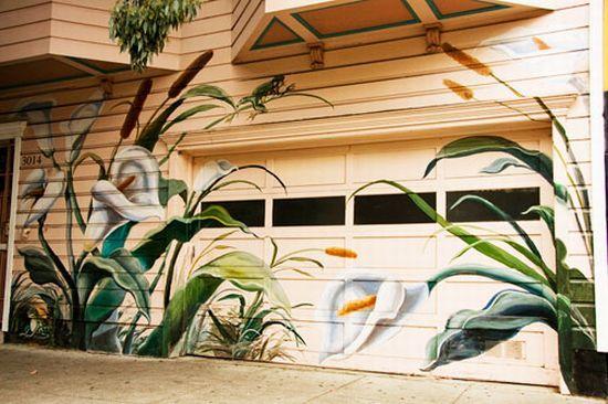 35 Best Garage Door Murals Images On Pinterest Door