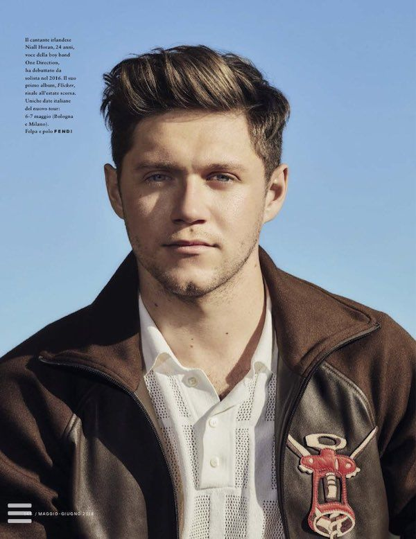 Niall Horan on the cover of GQ Italia, May/June 2018  | Coup