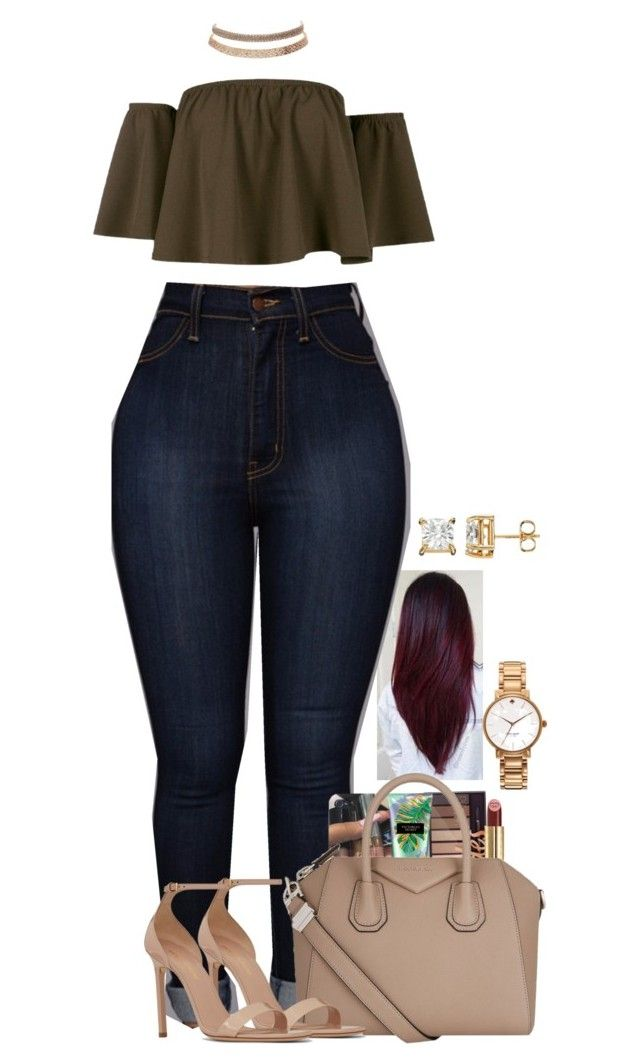 """T A M M Y ."" by basnightshine1015 ❤ liked on Polyvore featuring Boohoo, Victoria's Secret, Gucci, Givenchy, Yves Saint Laurent, Charlotte Russe and Kate Spade"