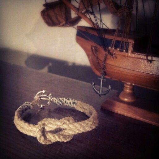 Homemade Nautical Bracelet