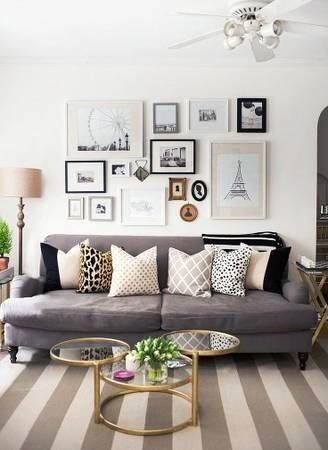 Start building your own gallery wall with vintage pieces, family photos and original art.