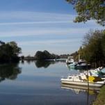 La Charente at Taillebourg