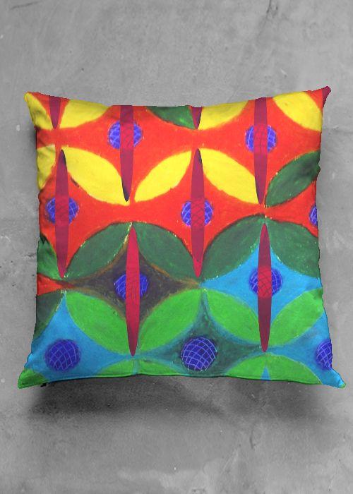 Interior deco Square Cushions in Original Patterns