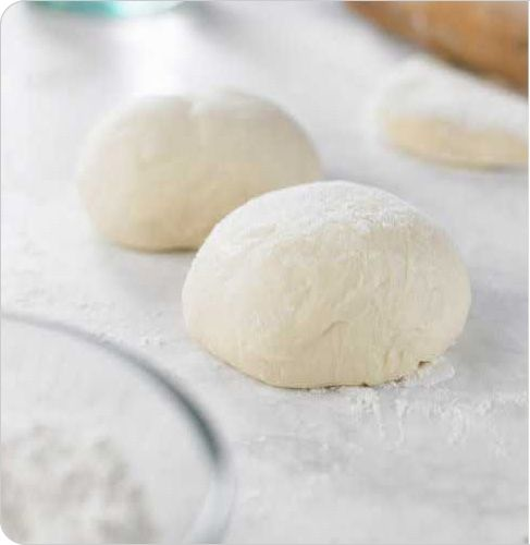 Panago pizza dough.. The beginning of my every workday -_-