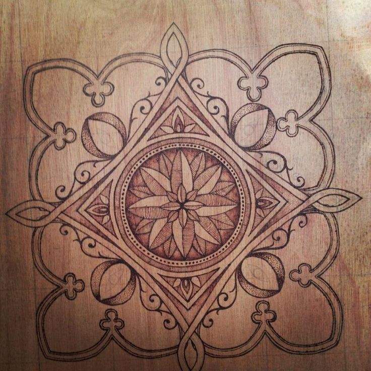 Free Wood Burning Patterns Pyrography Pattern By