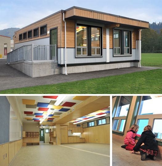 Modular Classroom Construction ~ Best images about permanent modular schools on